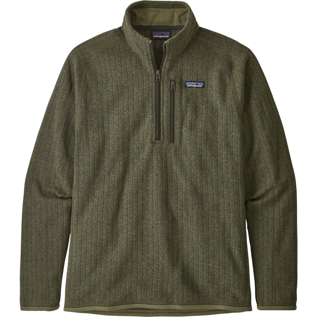 photo: Patagonia Better Sweater Rib Knit 1/4-Zip fleece top