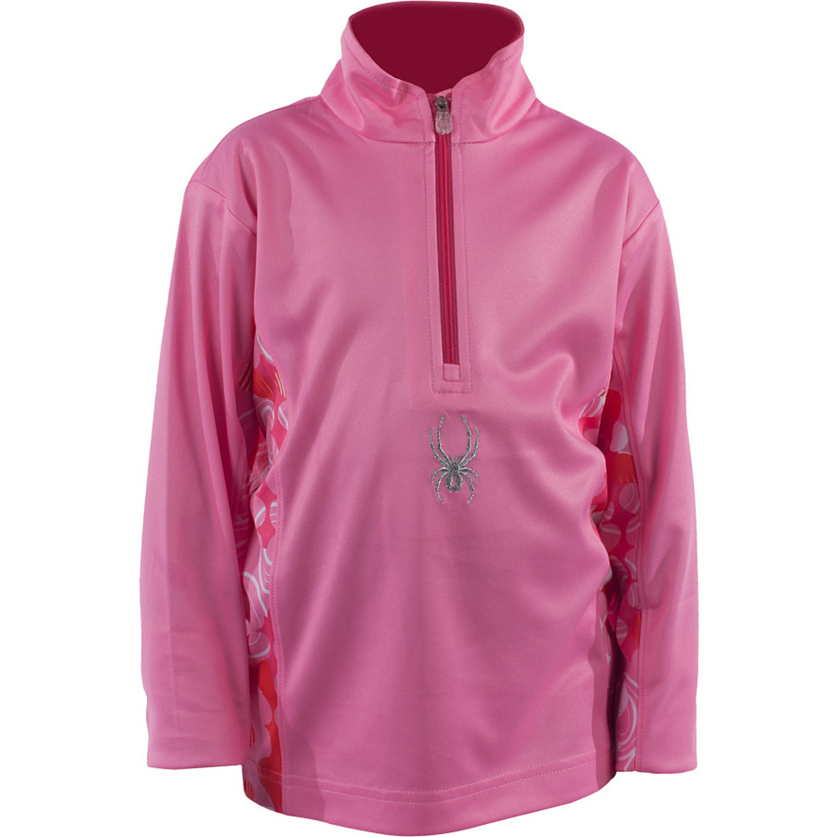 photo: Spyder Bitsy Snazzy Fleece T-Neck fleece top