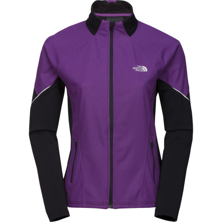 photo: The North Face Women's Windstopper Hybrid Full Zip soft shell jacket