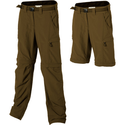photo: ExOfficio Women's Nio Amphi Convertible Pant hiking pant