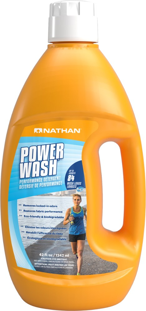 photo: Nathan Power Wash Performance Laundry Detergent fabric cleaner/treatment