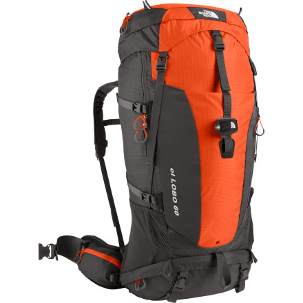 photo: The North Face Men's El Lobo 60 weekend pack (3,000 - 4,499 cu in)