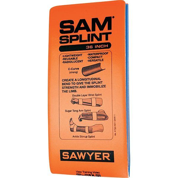 photo: SAM Medical SAM Splint first aid supply