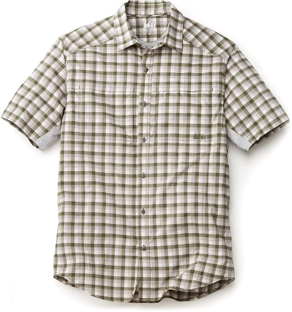photo: REI Sahara Tech Shirt hiking shirt