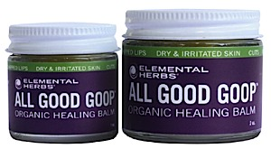 photo: Elemental Herbs All Good Goop first aid supply