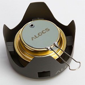 Alocs Mini Alcohol Stove