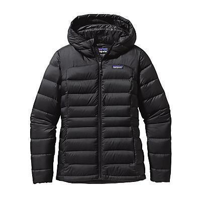 photo: Patagonia Women's Hi-Loft Down Sweater Hoody down insulated jacket