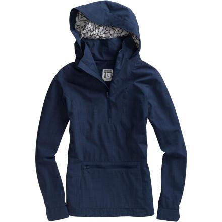 photo: Burton Lotus Pullover Rain Jacket waterproof jacket