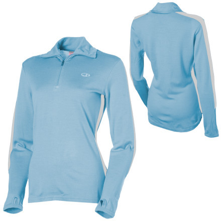 photo: Icebreaker Bodyfit 260 Olympia Zip base layer top