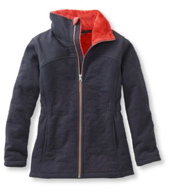 L.L.Bean Comfy Cozy Fleece Jacket