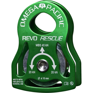 photo: Omega Pacific REVO Rescue Pulley pulley