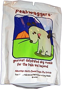 photo: PeakWaggers Mountain Mutt's Sweet Potato Pie dog gear