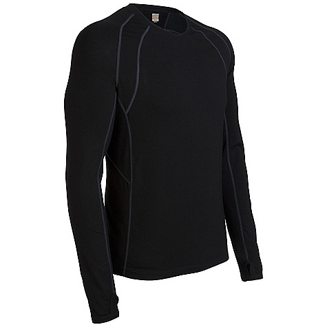 photo: Icebreaker LS Quest Zip long sleeve performance top