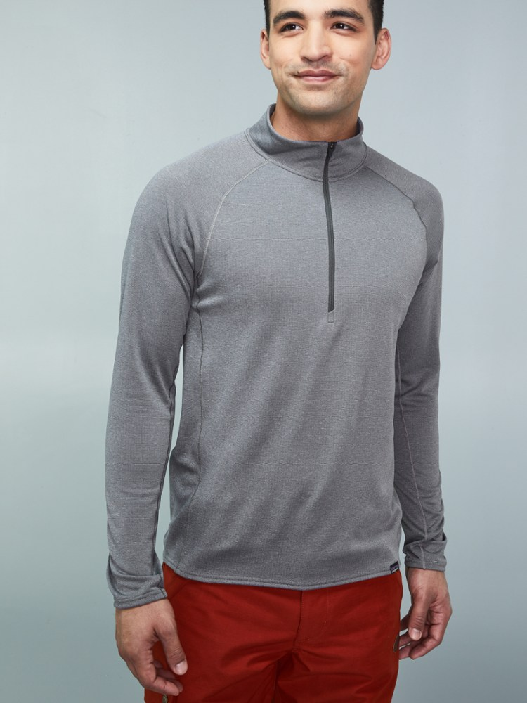 photo: Patagonia Capilene 3 Midweight Zip Neck base layer top