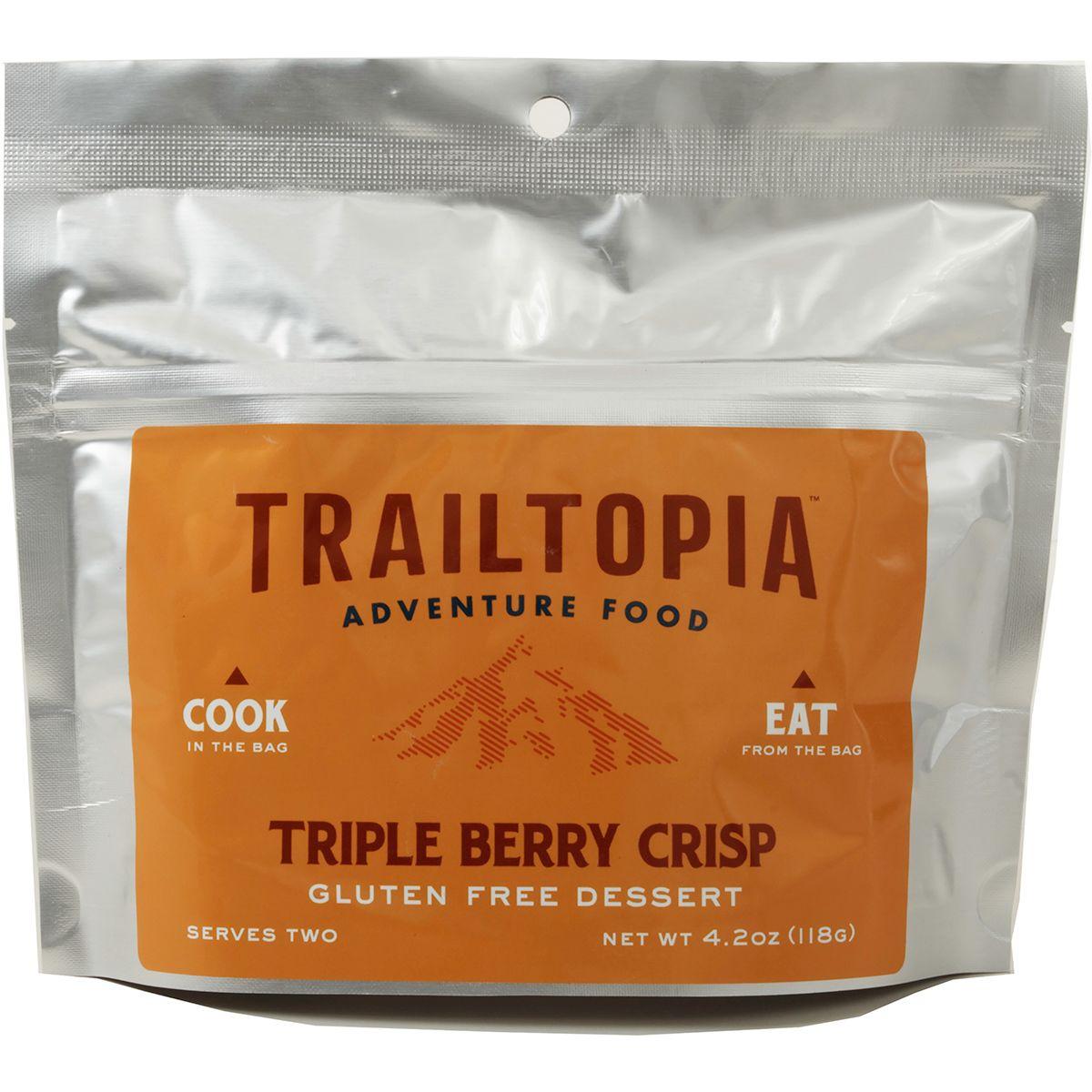 photo: Trailtopia Triple Berry Crisp dessert