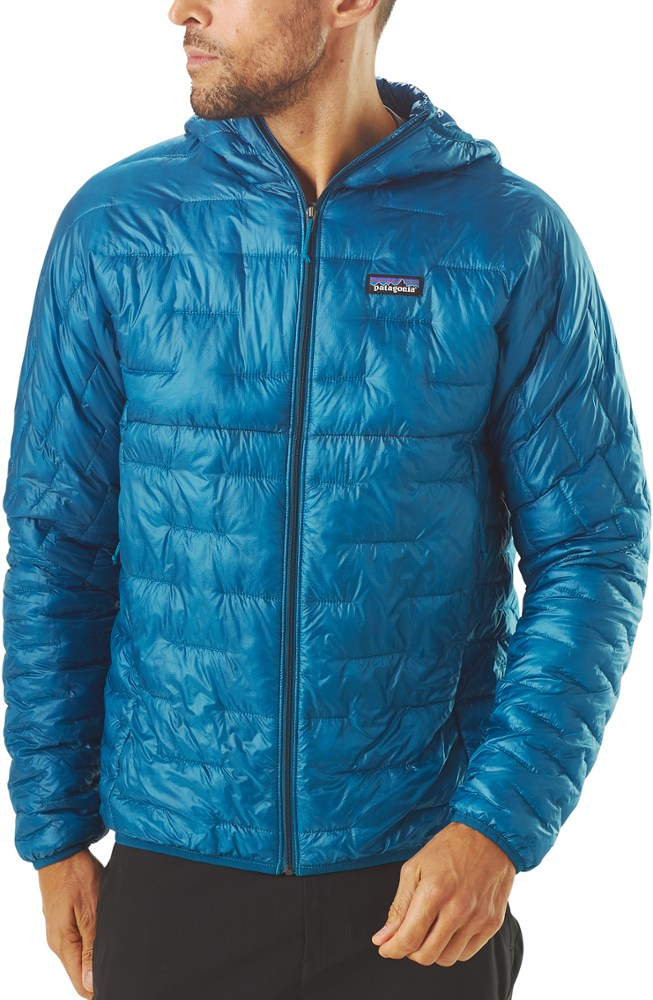 photo: Patagonia Men's Micro Puff Hooded Jacket synthetic insulated jacket