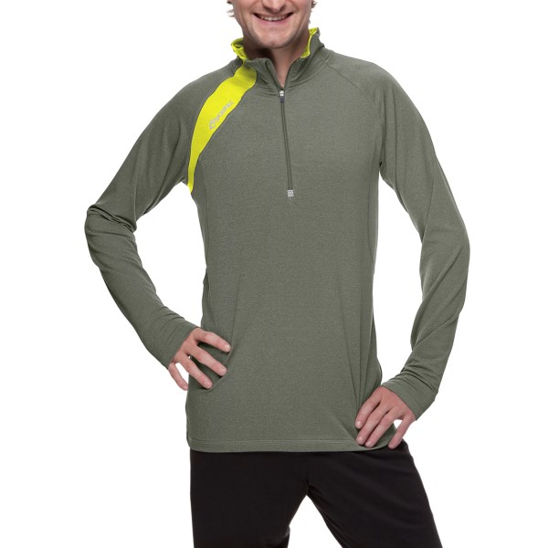 photo: SportHill Crescent Zip Top long sleeve performance top