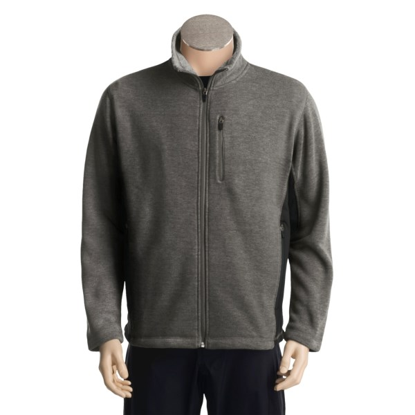 photo: White Sierra Pyramid Peak Jacket fleece jacket