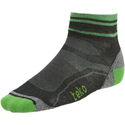 photo: Teko Kids' MERINO Light MiniCrew Sock running sock