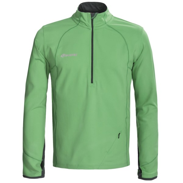photo: SportHill Men's Nova Zip Top long sleeve performance top