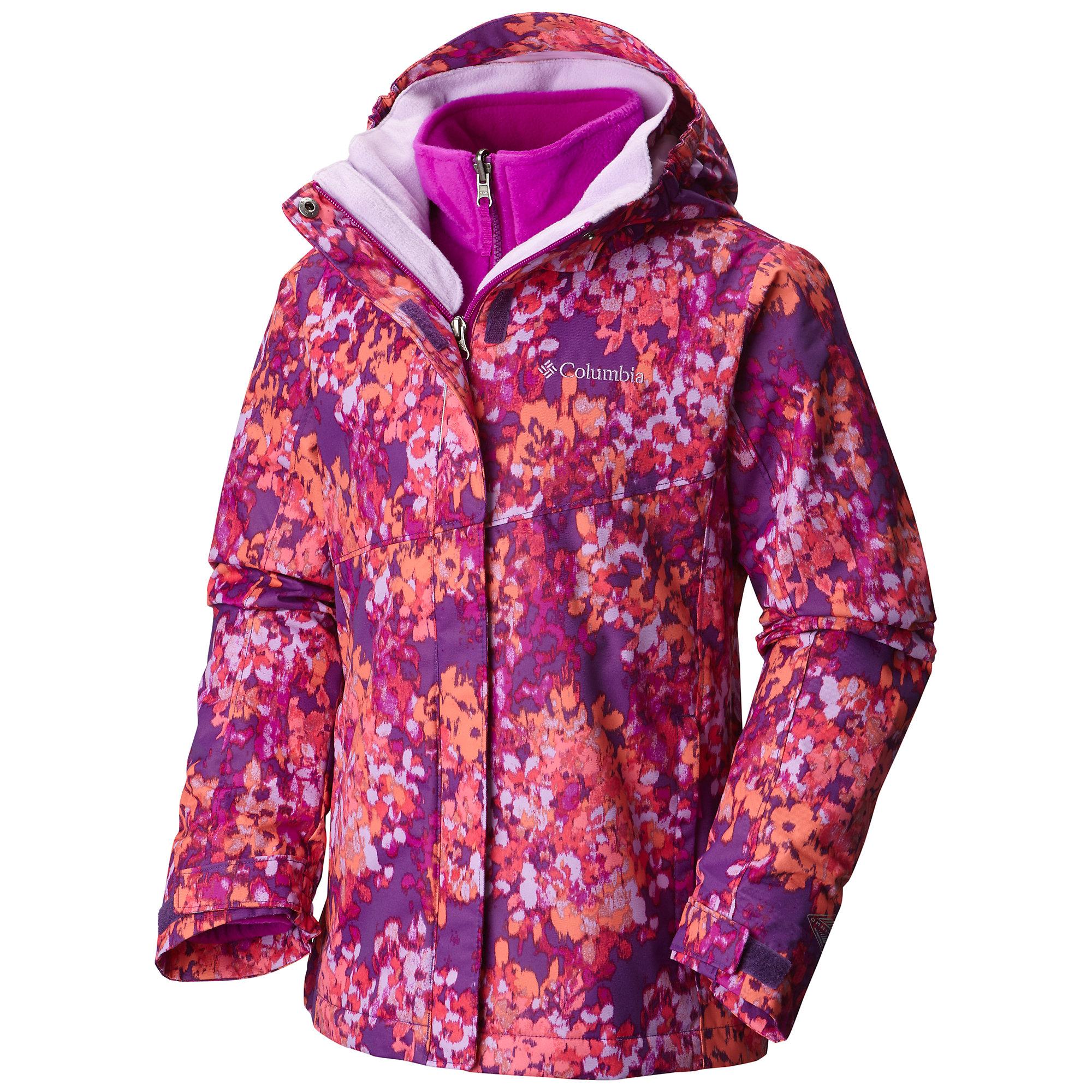 photo: Columbia Girls' Bugaboo Interchange Jacket component (3-in-1) jacket