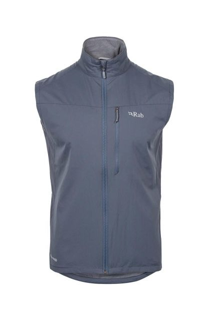 photo: Rab Vapour-Rise Flex Vest soft shell vest