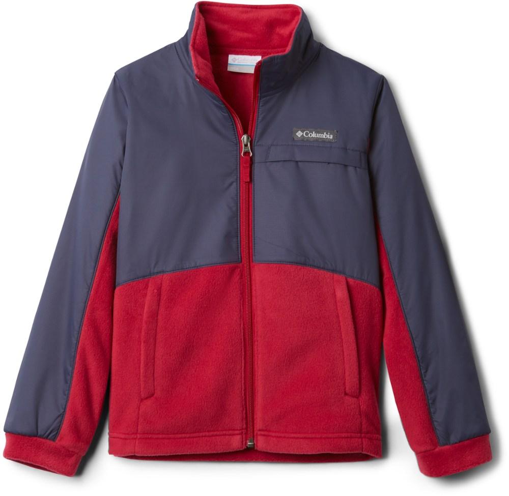 photo: Columbia Benton Springs III Overlay fleece jacket