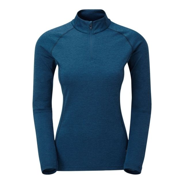 photo: Montane Women's Dart Zip-Neck long sleeve performance top