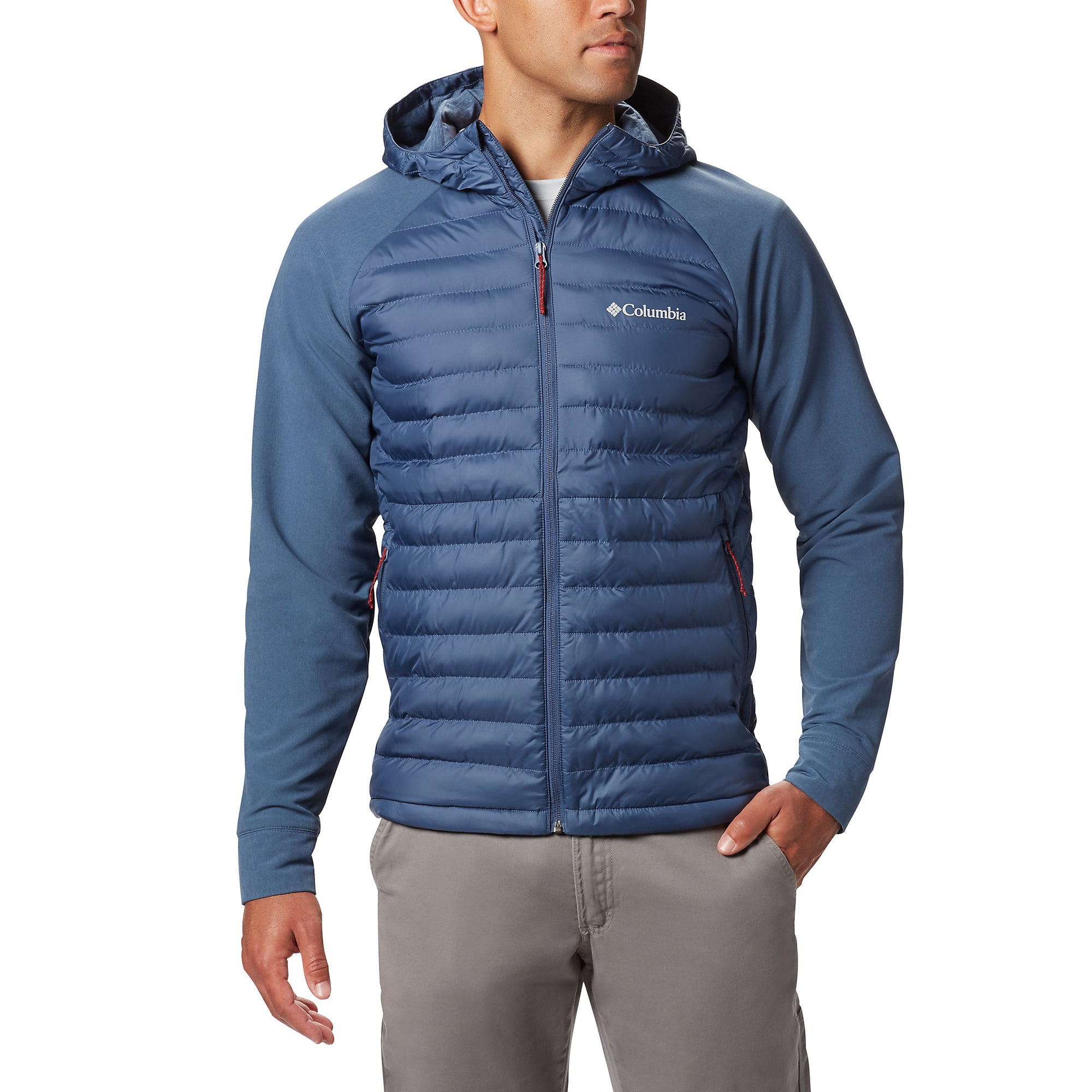 photo: Columbia Rogue Explorer Hybrid synthetic insulated jacket