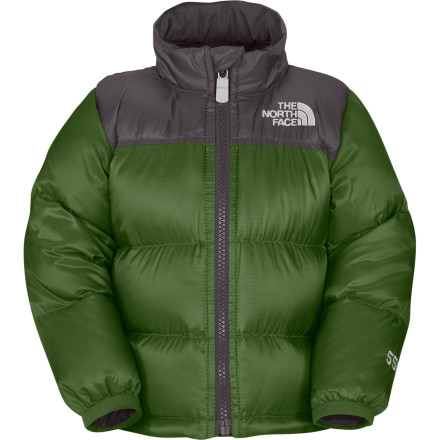 photo: The North Face Boys' Throwback Nuptse Jacket down insulated jacket