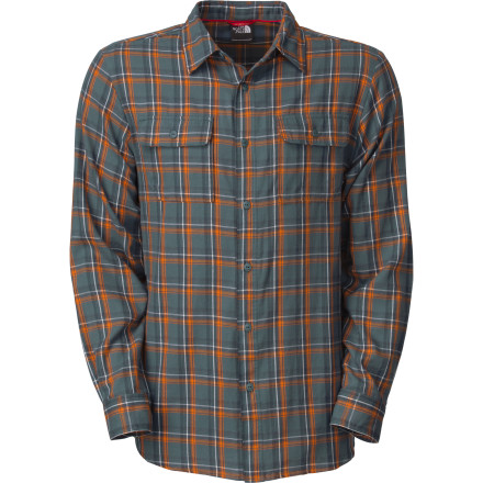 photo: The North Face Crag Flannel hiking shirt
