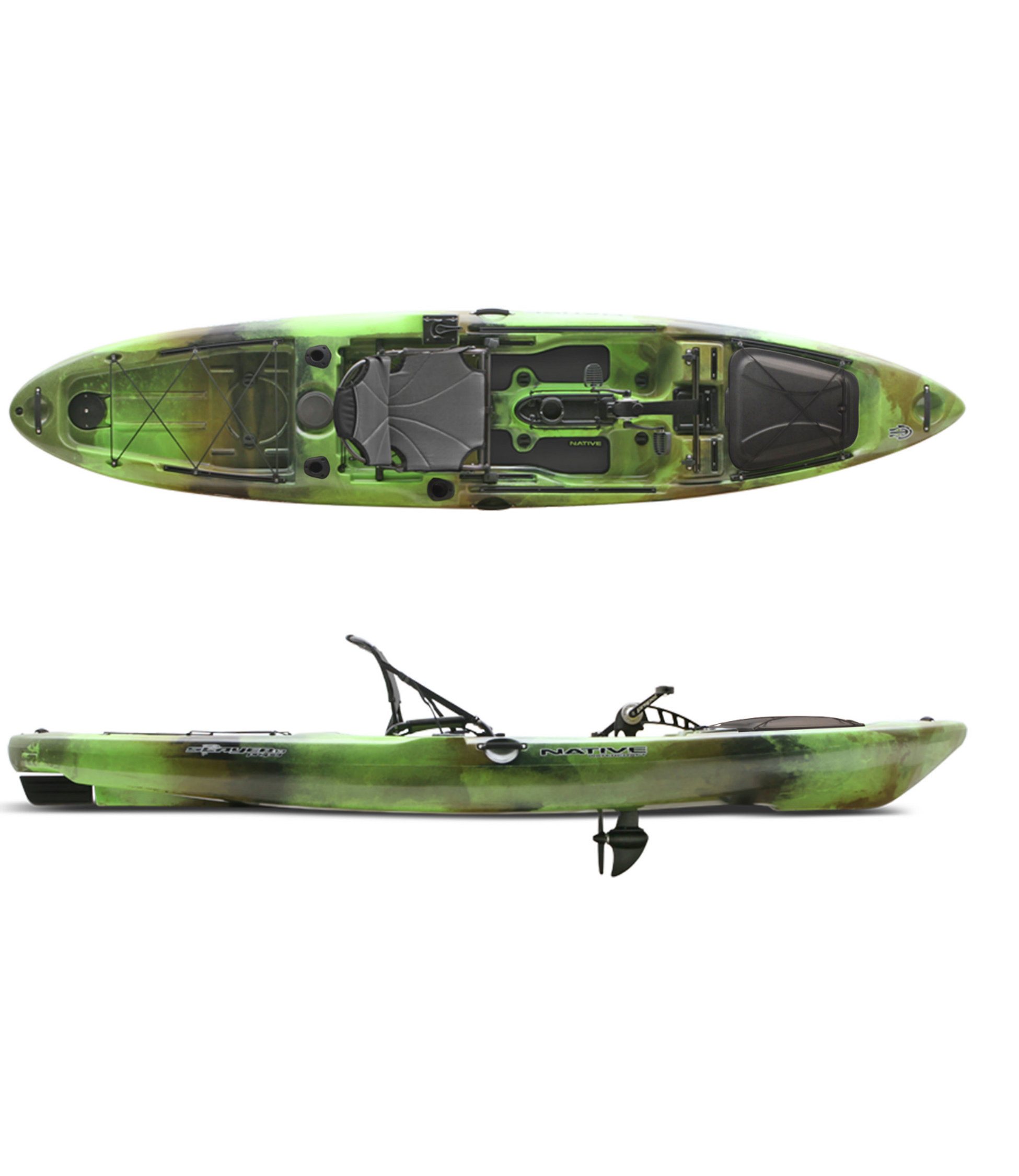 photo: Native Watercraft Slayer Propel 13 sit-on-top kayak