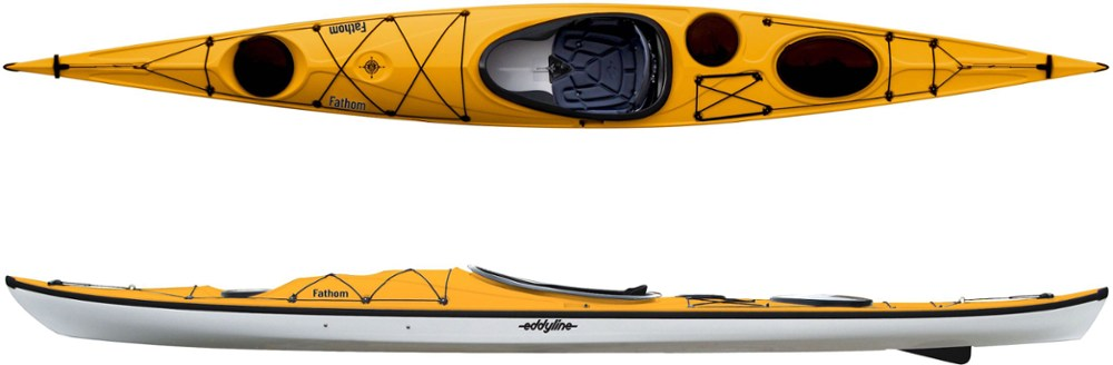 photo: Eddyline Fathom touring kayak