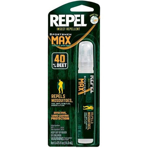 Repel Sportsmen Max Formula Pen Pump Insect Repellent