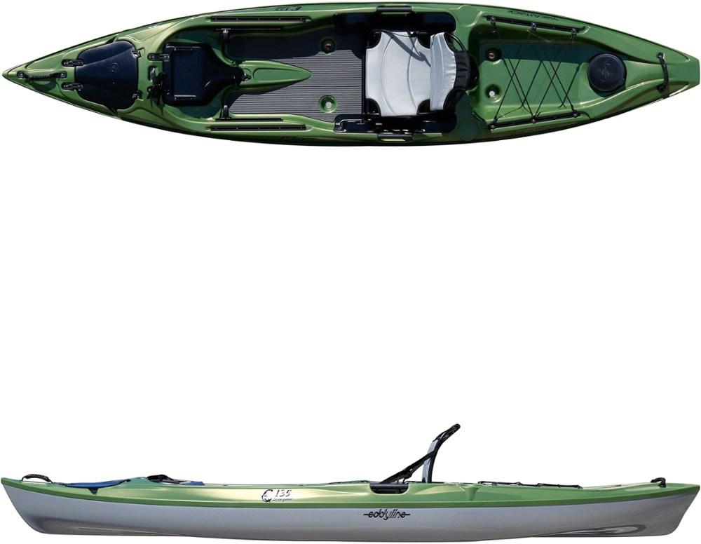 photo: Eddyline C-135 sit-on-top kayak