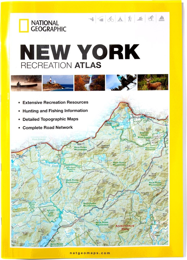 National Geographic New York Recreation Atlas