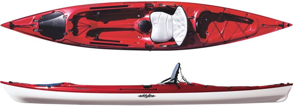 photo: Eddyline Caribbean 14 sit-on-top kayak