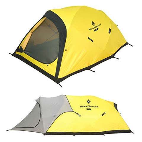 photo of a Bibler four-season tent