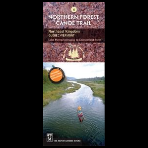 The Mountaineers Books Northern Forest Canoe Trail Map #6 - Northeast Kingdom Quebec/Vermont