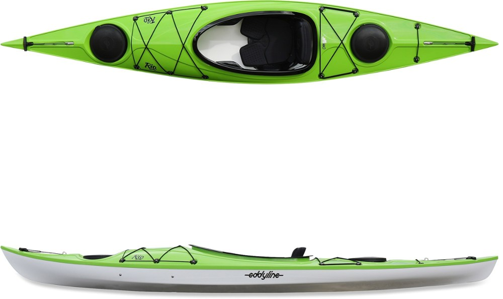 photo: Eddyline Rio recreational kayak