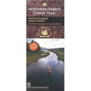photo of a The Mountaineers Books us northeast paper map