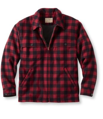L.L.Bean Maine Guide Zip-Front Jac-Shirt, Windstopper