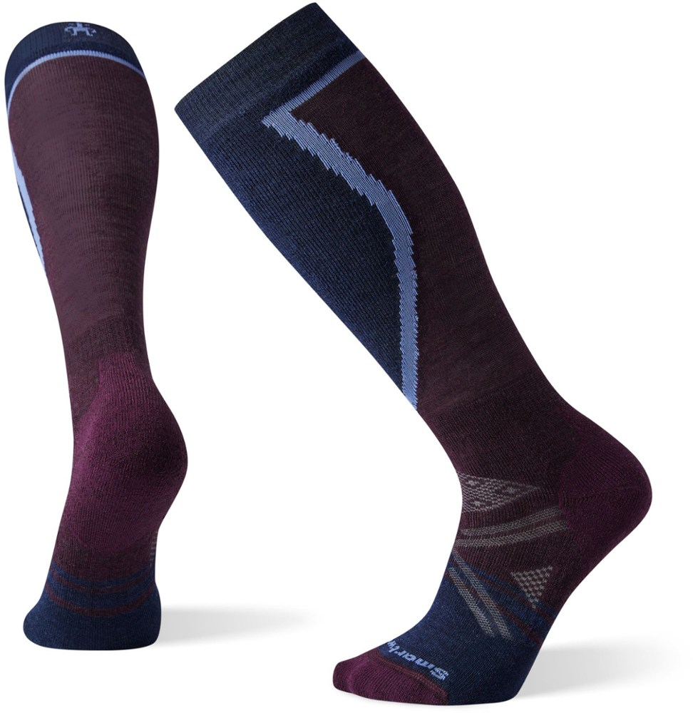 photo: Smartwool Women's PhD Ski Medium Sock snowsport sock