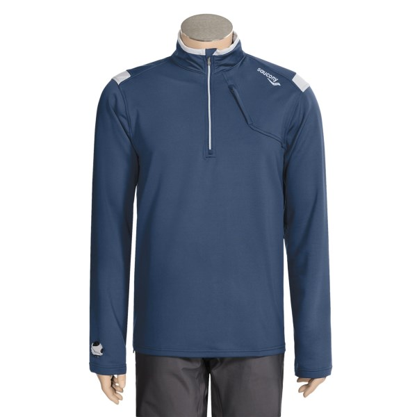 photo: Saucony DryLete Sportop long sleeve performance top