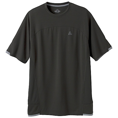 photo: prAna Vertigo Crew short sleeve performance top