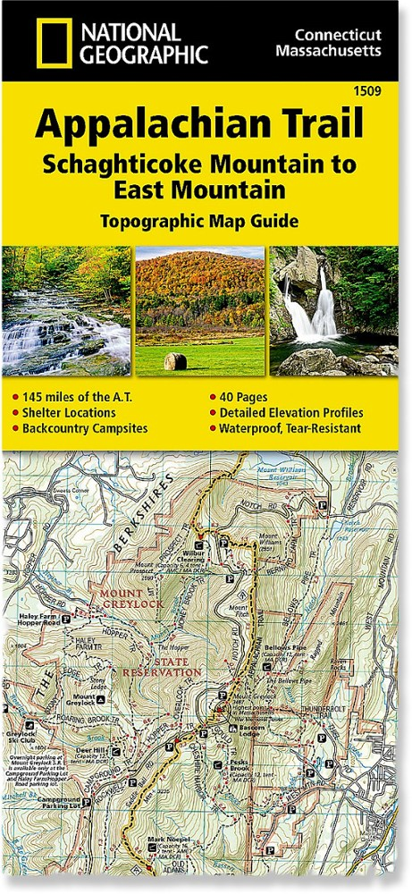 National Geographic Appalachian Trail: Schaghticoke Mountain to East Mountain