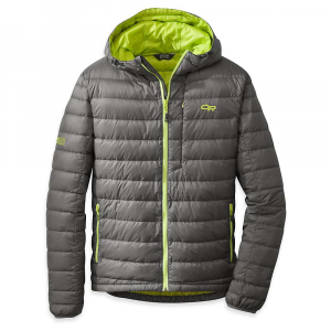 photo: Outdoor Research Transcendent Hoody down insulated jacket