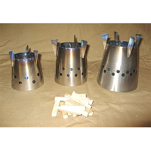 photo: Four Dog Stove Bushcooker LT II multi-fuel stove