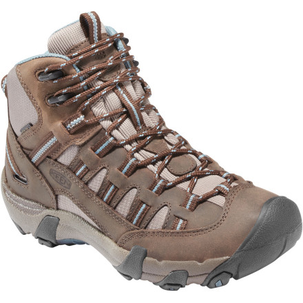 photo: Keen Men's Alamosa Mid WP hiking boot
