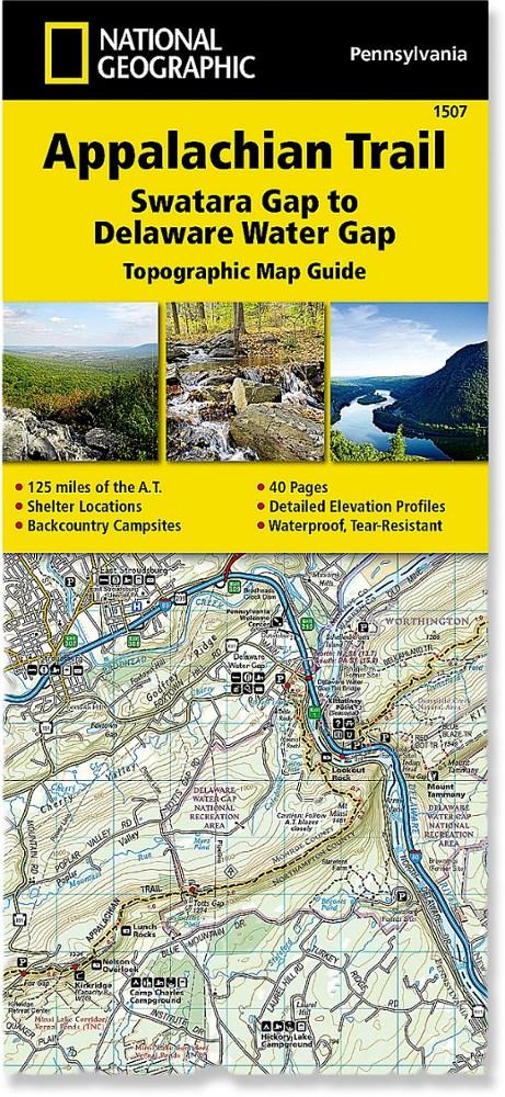 National Geographic Appalachian Trail: Swatara Gap to Delaware Water Gap